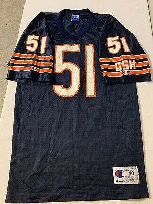 3bde970ad0f Dick Butkus Chicago Bears Vintage Champion NFL USA Made Jersey 40 90's