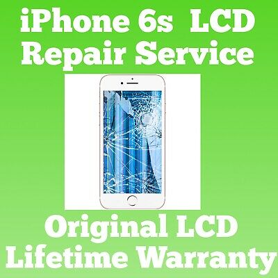 iPhone 6S Cracked Glass Broken LCD Screen Repair Service