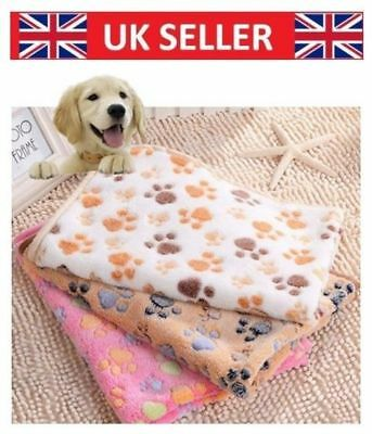 Professional vet bed Bedding Pet Dog Cat Puppy Vet Bed Paw Pet Blanket Pretty