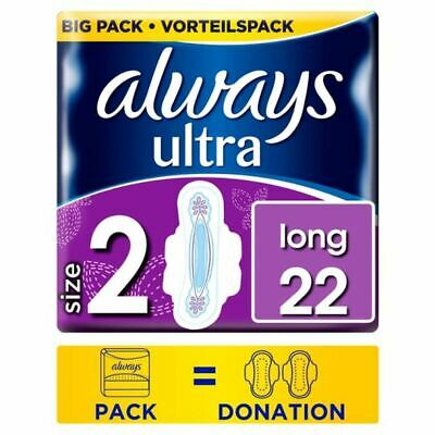 Always Ultra Long Size 2 Sanitary Towels With Wings 22