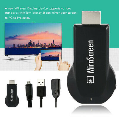 MiraScreen WIFI Display TV Dongle Miracast DLNA Airplay HDMI Receiver HD 1080P