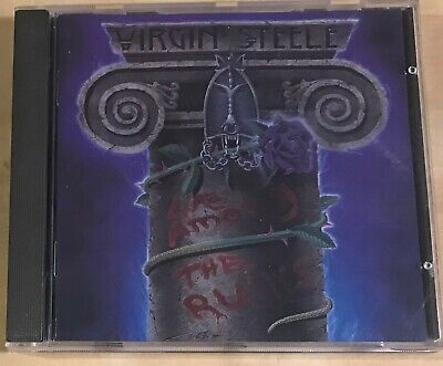 CD VIRGIN STEELE Life Among The Ruins 1994 GER T+T 1st without IFPI