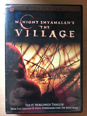 Bryce Dallas Howard Joaquin Phoenix The Village ~2004 Horror Region 1 US DVD