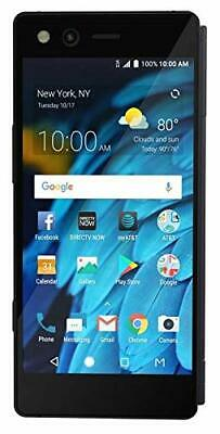 "ZTE Axon M Z999 64GB GSM Unlocked LTE 5.2"" Dual IPS LCD 20MP Phone Carbon Black"