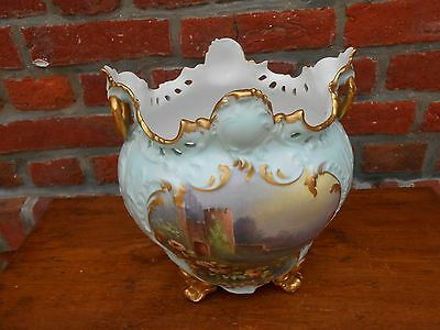 VINTAGE FRENCH FAIENCE CACHEPOT PLANTER JAR. ..XIXth C...Style Louis XV