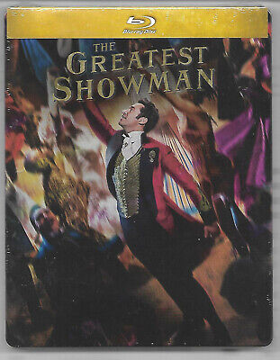 THE GREATEST SHOWMAN / Blu-Ray Steelbook Neuf sous blister - VF