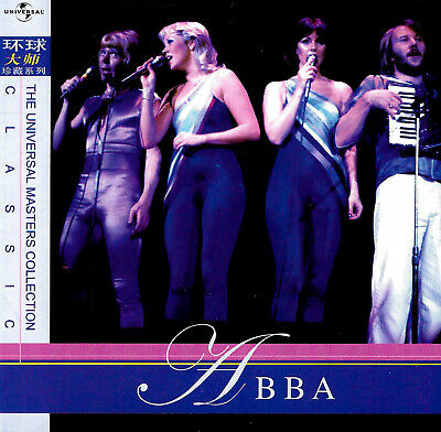 ABBA RARE 'THE UNIVERSAL MASTERS COLLECTION  18 Tracks MUSIC CD NEW SEALED