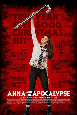Anna And The Apocalypse [Dvd] Disk Only.