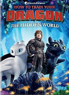 How to Train Your Dragon 3 - The Hidden world [DVD] DISK ONLY.