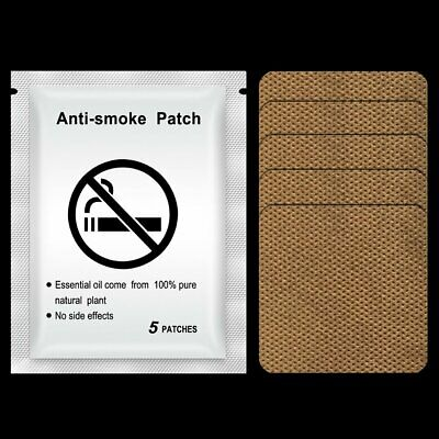 Stop Patches Anti Smoke Plaster Ingredient Natural Cessation Herbs He A⊿