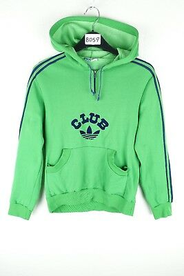 Vintage Adidas Club Hooded Track Top Jacket Size 12 Years* (B059)