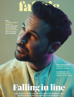 Fabric Magazine May 2019 Martin Compston on cover