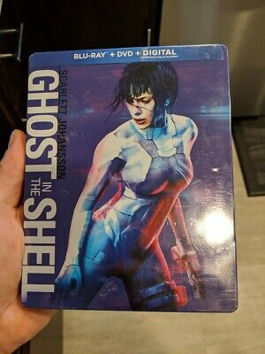 Ghost in the Shell - Limited Edition Steelbook (Blu-ray/DVD) BRAND NEW!!