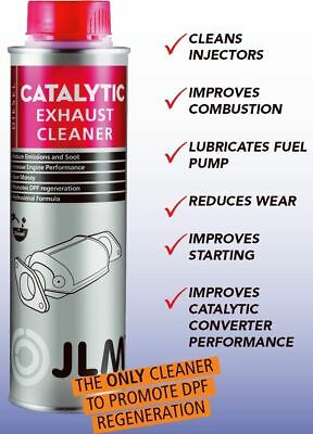 Jlm Catalytic Exhaust Cleaner - Reduce Emissions And Soot - Increase Performance