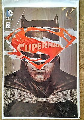 Superman #50. Unopened & Sealed Polybagged Variant. 1St Print May 2016. Nm/Mint