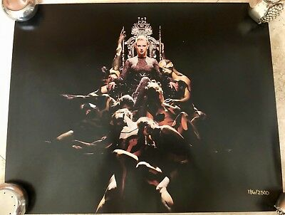 "Taylor Swift Limited Edition Rare New Reputation Stadium Tour Litho 20"" x 16"""