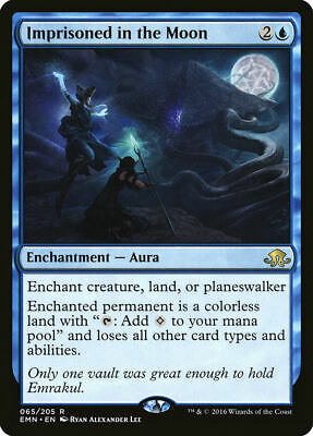 Imprisoned in the Moon Eldritch Moon Rare EN NM MTG