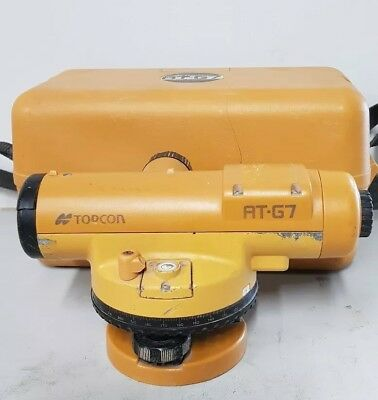 Topcon AT-G7 Automatic Dumpy Level Surveying Survey
