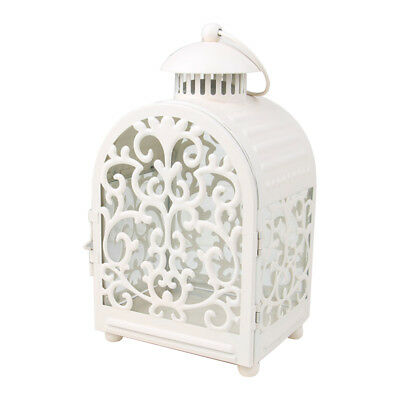 1pc Candle Lantern Vintage Moroccan Style Wrought Iron Candle Holder for Events