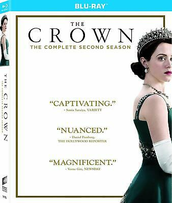The Crown The Complete Second Season (Blu-Ray) Brand New, Anton Lesser