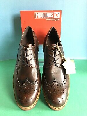 46f4d18a25eed Pikolinos Men's 05M-6543AA Glasgow Wing tip Oxford, Cognac Size 46 First  Quality