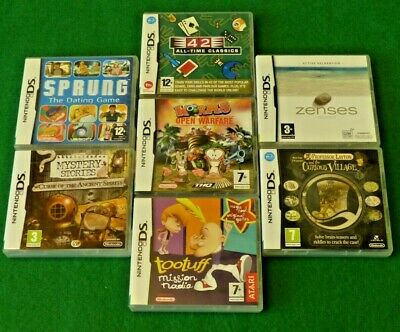 Nintendo DS Game Bundle - 7 Games all Complete in Box & Fully Tested - Look!