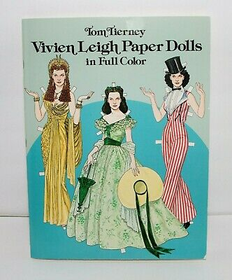 Unused For a Special Girl Paper Doll Greeting Card by Tom Tierney Uncut 1996