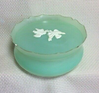 Reduced For Charity!  Vtg. Avon Rapture Beauty Dust Plastic Container