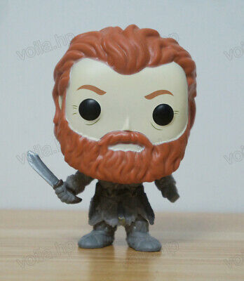 Game of Thrones Toy - Tormund Giantsbane #53 PVC Figure With Box & POP Protector