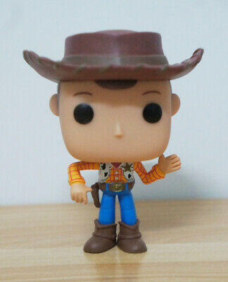 Disney Pixar Animation Toy Story Woody #168 PVC Figure With Box & Pop Protector