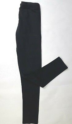 CANDY COUTURE age 12/13 yrs black leggings trousers (B399)