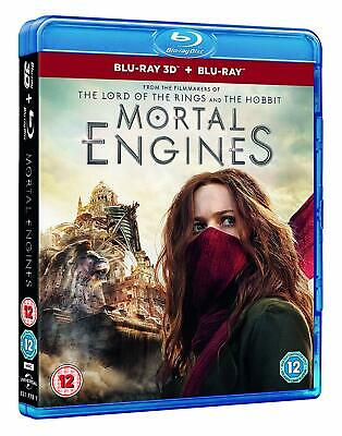 Mortal Engines (Blu-ray 2D/3D) BRAND NEW!!