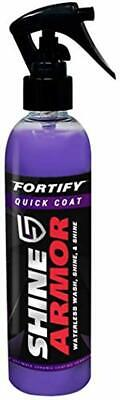 Shine Armor Fortify Quick Ceramic Coating Wax Top Coat Sealant Waterless Wash