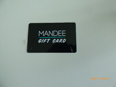 Mandee Gift Card (FREE Mail Delivery) $100 Value