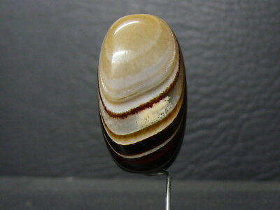 (eL982) Tibet:   Beautiful DZI  GZI Natural Agate Bead. Jewelery quality