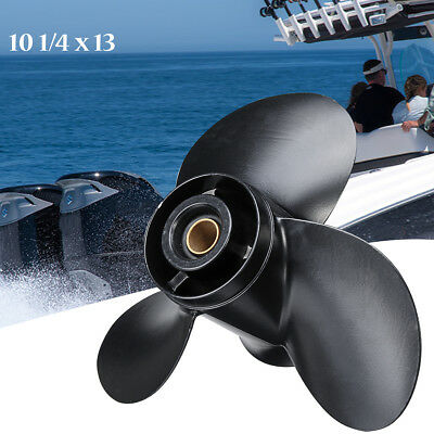 10 1/4 x 13 Aluminum Boat Outboard Propeller For Suzuki 20-30HP 58100-96440-019