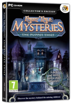 Fairy Tale Mysteries; The Puppet Thief - Collector`s Edition GAME NEW