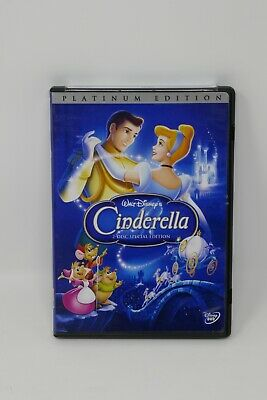 Cinderella (DVD, 2005, 2-Disc Set, Platinum Edition)