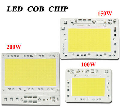 30W 50W 100W Driver AC 220-240V Smart IC Integrated COB Lamp Chip Floodlight LED