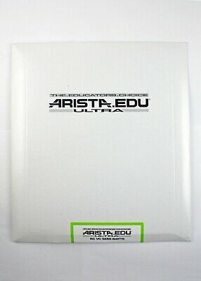 "195229 Arista EDU VC RC *EXPIRED* 8x10"" B&W Photo Paper Semi-Matte 25 Sheets"