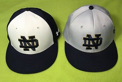 5822a53b0e4d9 NIKE PENN STATE PSU Baseball Team Issued Navy Blue Fitted Cap Hat ...