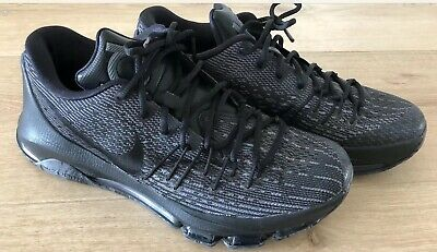 quality design 50ad9 5953a N Nike Mens Kevin Durant KD 8 VII Blackout Basketball Shoes Size US 9 Now   99