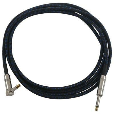 1X(Guitar Cable for Bass Keyboard Instrument Professional 1/4inch (6.3mm) S R2T5