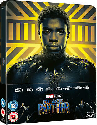Black Panther [Lenticular Magnet SteelBook] [3D+Blu-ray] New & Sealed PRE-ORDER!