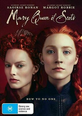 Mary Queen Of Scots : 2019 : NEW DVD : Australian Stock :