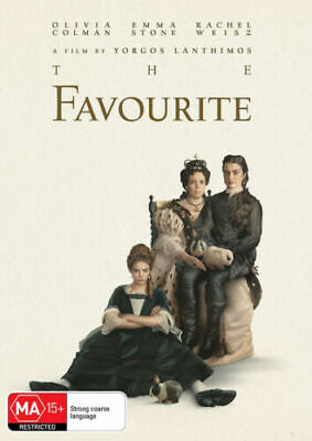 The Favourite : 2019 : NEW DVD : Australian Stock :