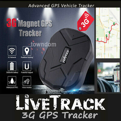Live Track 3G GPS Tracker Device Magnet Anti Theft Vehicle Tracking Car Truck AU