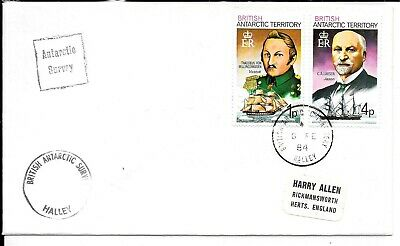 British Antarctic Territory 1984 Survey Cover