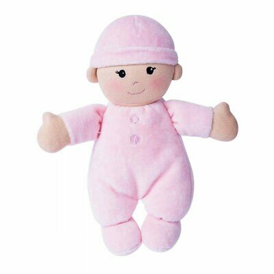 Organic 'My First Baby Doll' - PINK - super soft 100% Organic Cotton