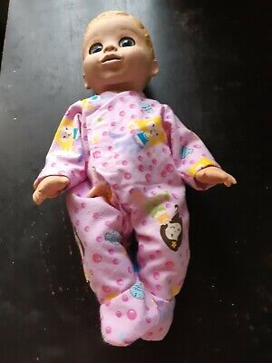 Homemade Baby Luvabella Pink with Mermaids Coverall Pyjamas